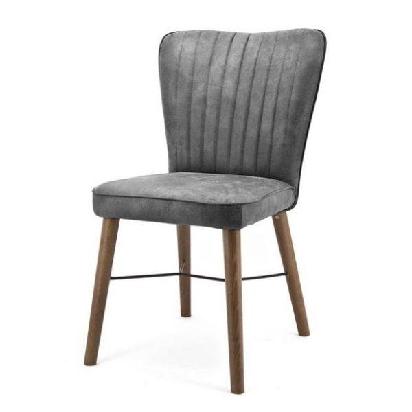 2 x Chiba Spisebordsstole H90 cm - Antacit