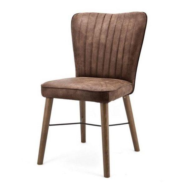 2 x Chiba Spisebordsstole H90 cm - Brun