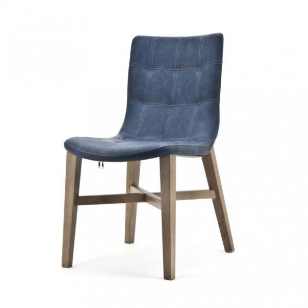 2 x Neba Spisebordsstole H88 cm - Blå