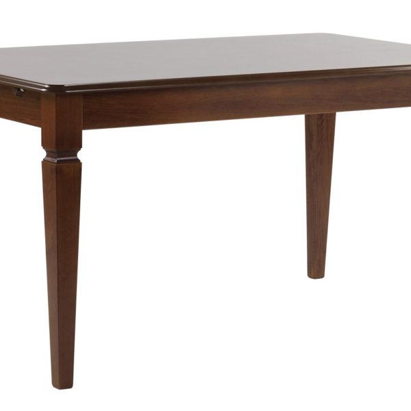 Amadeus spisebord - valnøddebrun m. udtræk (145x90)