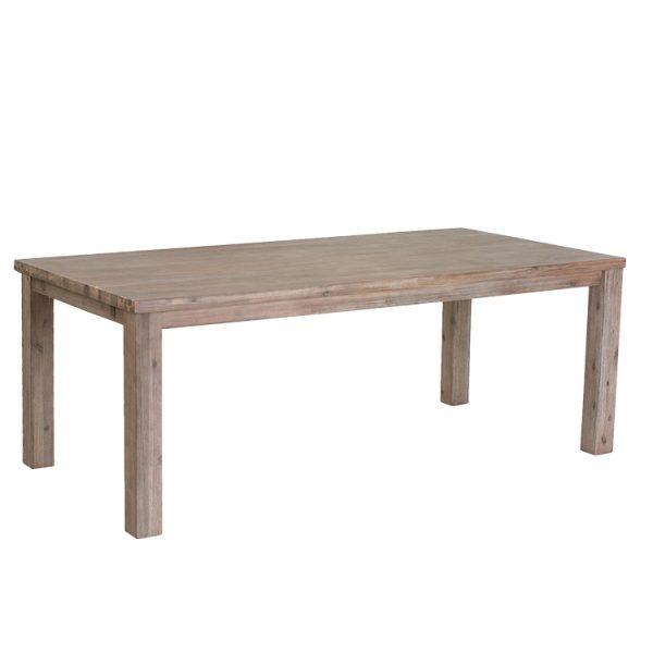 Atlantic spisebord - træ, m. udtræk (180x90)