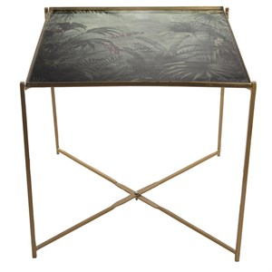 Au Maison - Sidebord - Side Tables Tray - Jungle/Gold