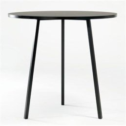 HAY cafébord - Loop Stand Round Table High