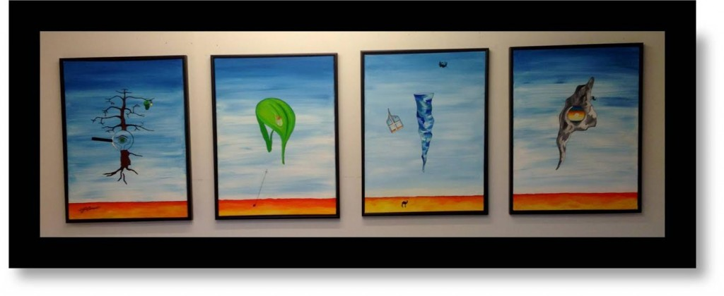 Malerier i ørkenen
