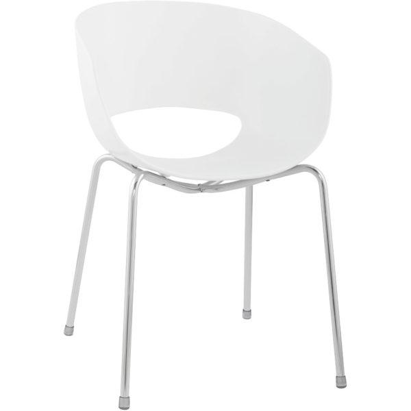 Napoli spisebordsstol / hvid