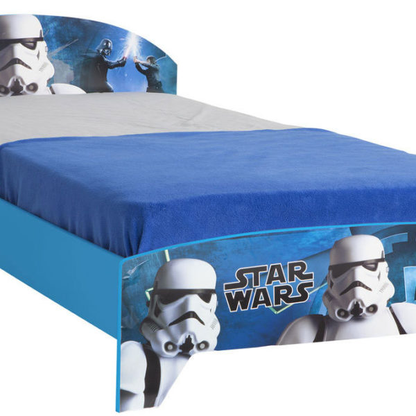 Star Wars børneseng 190 x 90 u. madras